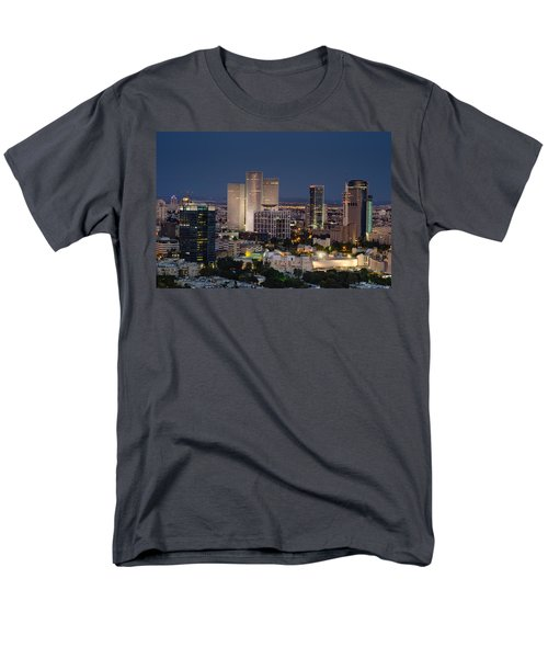 Men's T-Shirt  (Regular Fit) featuring the photograph The State Of Now by Ron Shoshani