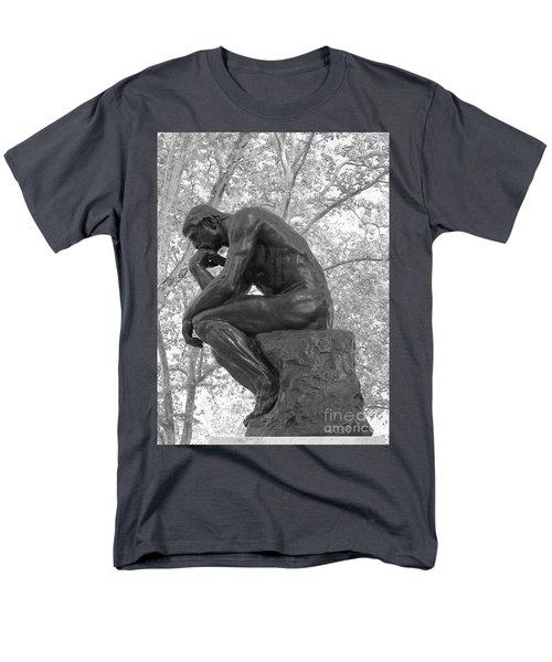 The Thinker - Philadelphia Bw Men's T-Shirt  (Regular Fit)