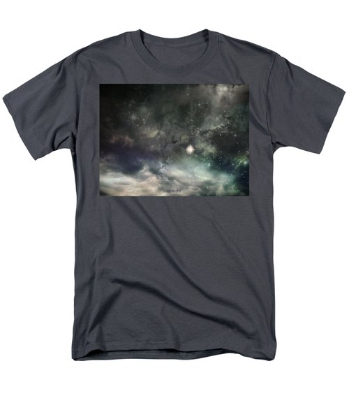 Men's T-Shirt  (Regular Fit) featuring the photograph The Universe by Cynthia Lassiter