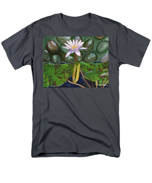 The Waterlily Men's T-Shirt  (Regular Fit) by Laura Forde