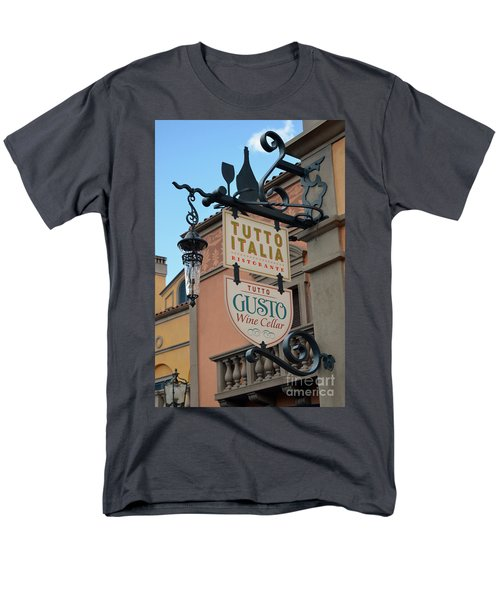 Men's T-Shirt  (Regular Fit) featuring the photograph The Wine Cellar by Robert Meanor