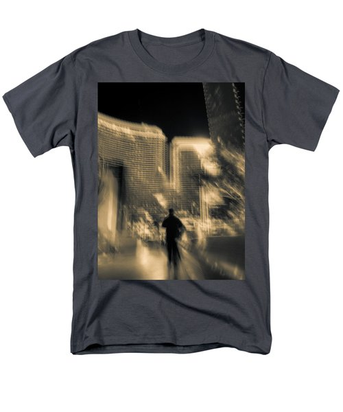 Men's T-Shirt  (Regular Fit) featuring the photograph The World Is My Oyster by Alex Lapidus