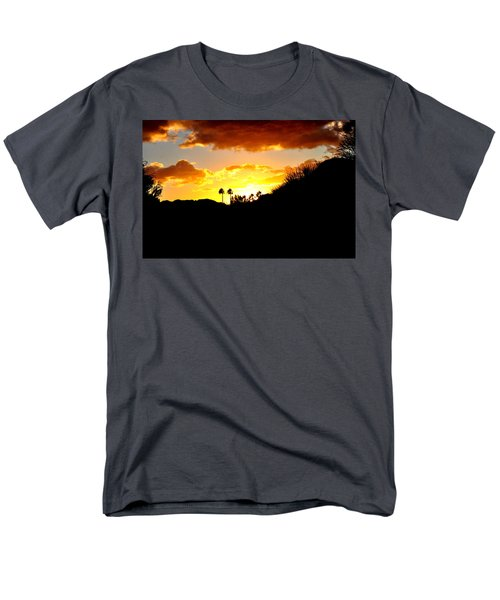 There's Gold In Them Thar Hills Men's T-Shirt  (Regular Fit) by Jay Milo