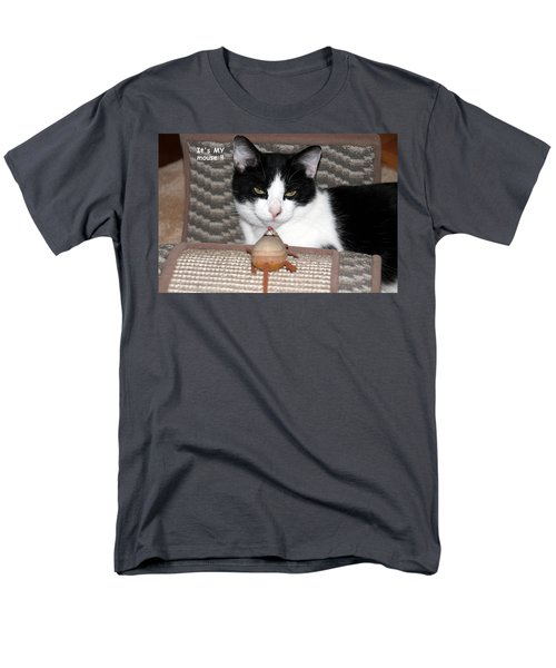 This Is My Mouse Men's T-Shirt  (Regular Fit) by Laurel Talabere