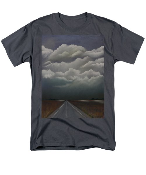 Men's T-Shirt  (Regular Fit) featuring the pastel This Menacing Sky by Cynthia Lassiter