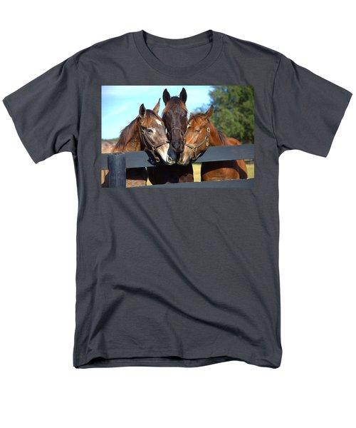 Three Friends Men's T-Shirt  (Regular Fit) by Gordon Elwell
