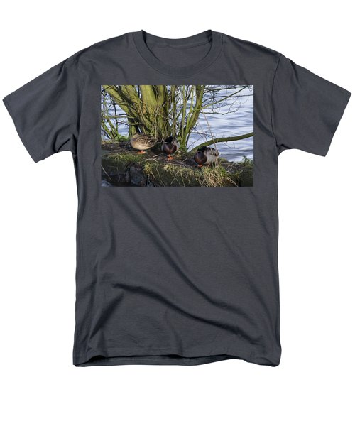Three In A Row Men's T-Shirt  (Regular Fit) by Spikey Mouse Photography