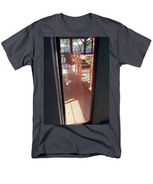Through The Screen No 2 Men's T-Shirt  (Regular Fit) by Lon Casler Bixby