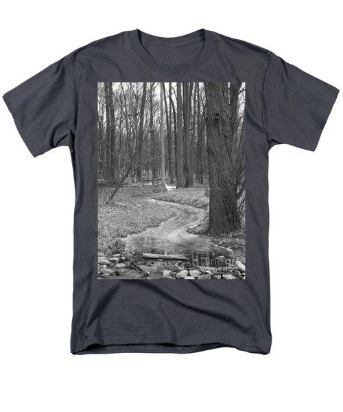 Through The Woods Men's T-Shirt  (Regular Fit) by Sara  Raber