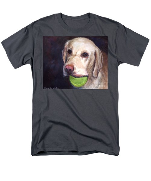 Throw The Ball Men's T-Shirt  (Regular Fit) by Molly Poole