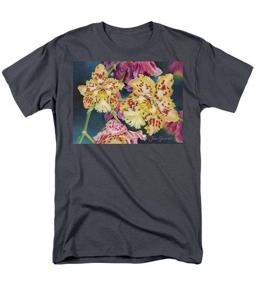 Tiger Orchid Men's T-Shirt  (Regular Fit)