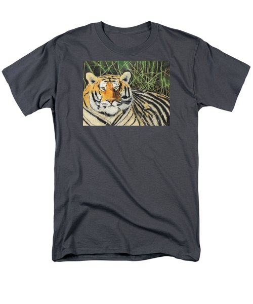 Men's T-Shirt  (Regular Fit) featuring the painting Tigress by Jeanne Fischer