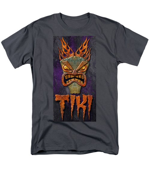 Men's T-Shirt  (Regular Fit) featuring the photograph Tiki by WB Johnston