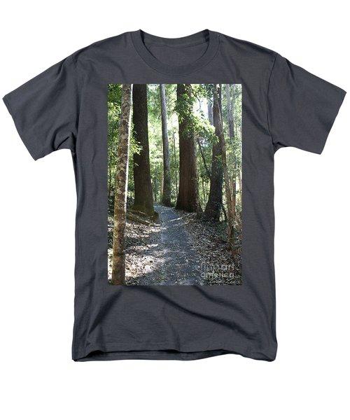 To Walk Among Giants Men's T-Shirt  (Regular Fit) by Linda Lees