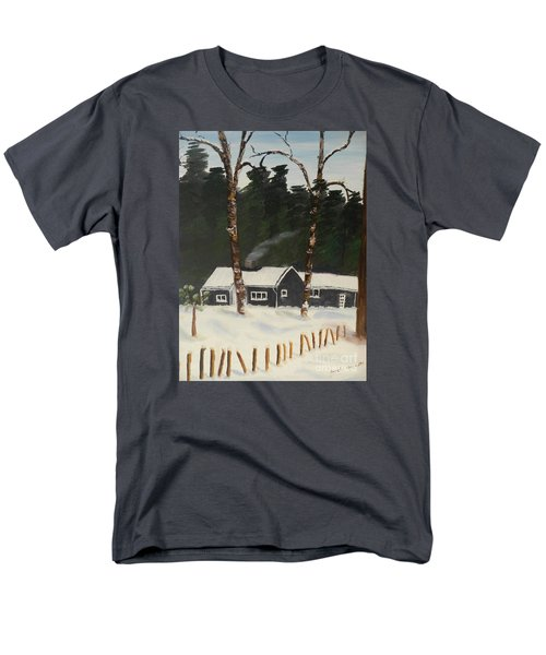 Tonys House In Sweden Men's T-Shirt  (Regular Fit) by Pamela  Meredith
