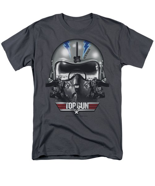 Top Gun - Iceman Helmet Men's T-Shirt  (Regular Fit) by Brand A