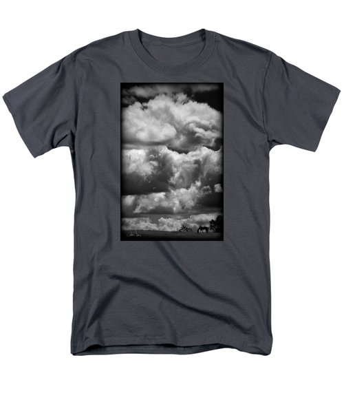 Men's T-Shirt  (Regular Fit) featuring the photograph Top Of The World by Joan Davis