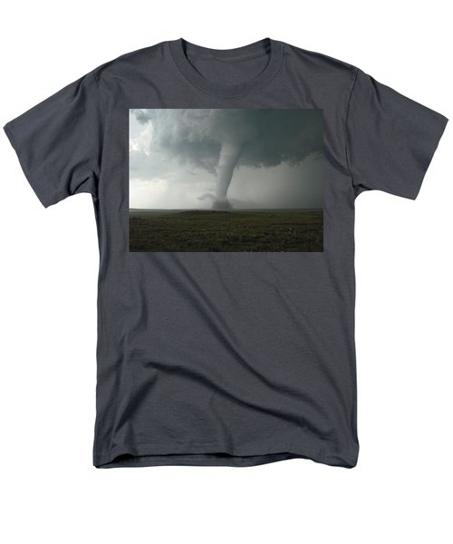Tornado In The High Plains Men's T-Shirt  (Regular Fit) by Ed Sweeney