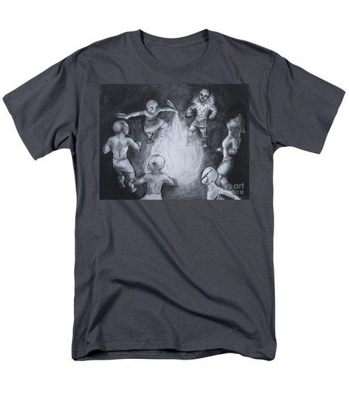 Totem Dancers - Channeling The Spirits Men's T-Shirt  (Regular Fit) by Samantha Geernaert