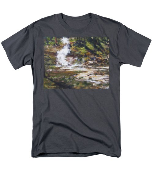Trail To The Artists Paint Pots - Yellowstone Men's T-Shirt  (Regular Fit)