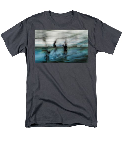 Men's T-Shirt  (Regular Fit) featuring the photograph Travel Blues by Alex Lapidus