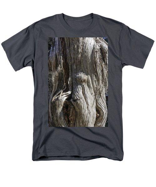 Tree Bark No. 3 Men's T-Shirt  (Regular Fit) by Lynn Palmer