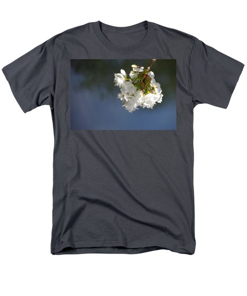 Men's T-Shirt  (Regular Fit) featuring the photograph Tree Blossoms by Marilyn Wilson