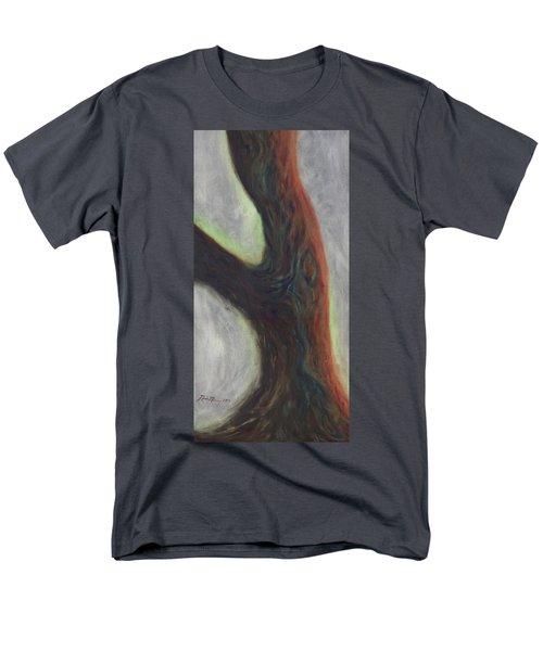 Tree Cut Off Men's T-Shirt  (Regular Fit) by Mark Minier