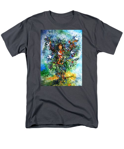 Tree Of Life  Men's T-Shirt  (Regular Fit) by Trudi Doyle