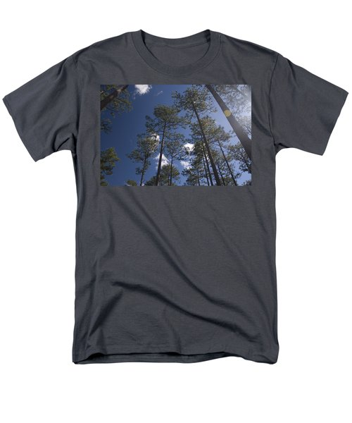 Men's T-Shirt  (Regular Fit) featuring the photograph Trees And Nature by Charles Beeler