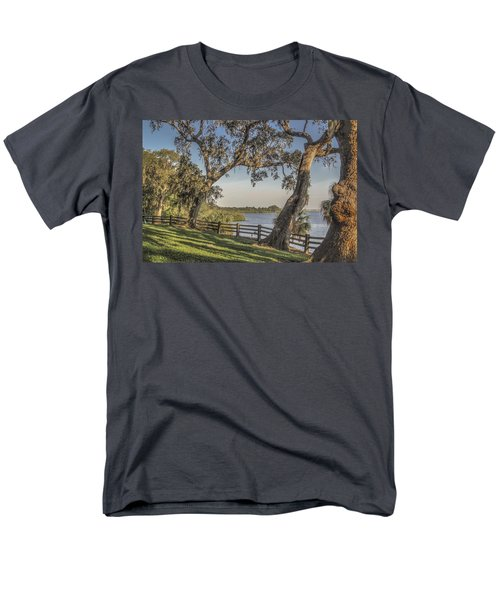 Men's T-Shirt  (Regular Fit) featuring the photograph Trees With A View by Jane Luxton