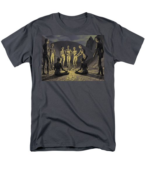 Men's T-Shirt  (Regular Fit) featuring the digital art Tribe by John Alexander