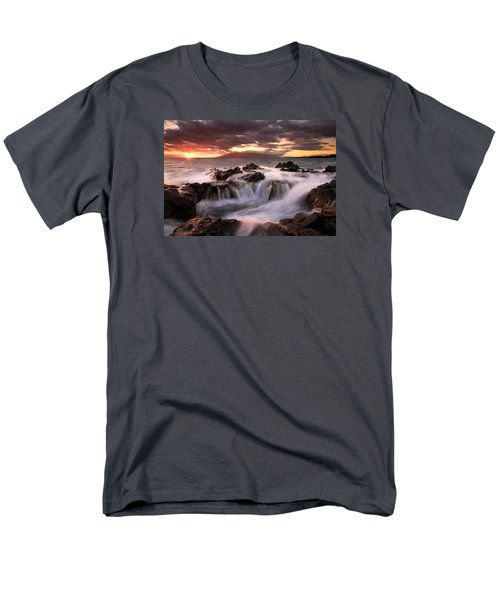 Tropical Cauldron Men's T-Shirt  (Regular Fit) by Mike  Dawson