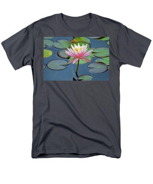 Tropical Pink Lily Men's T-Shirt  (Regular Fit)
