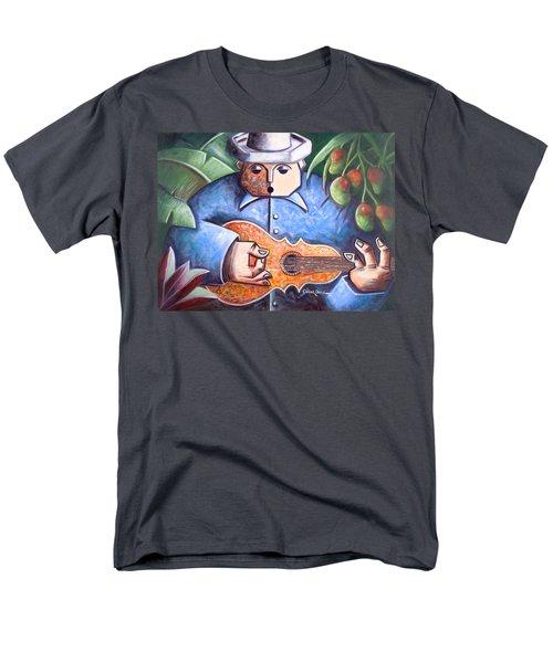 Trovador De Mango Bajito Men's T-Shirt  (Regular Fit) by Oscar Ortiz