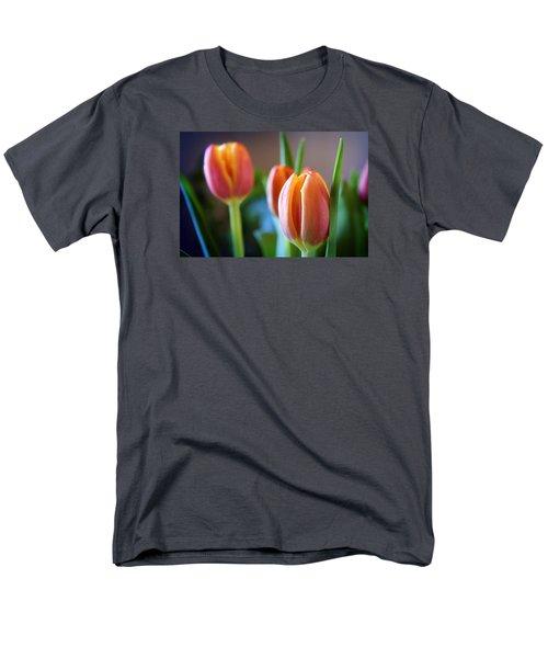 Tulips Artistry Men's T-Shirt  (Regular Fit) by Milena Ilieva
