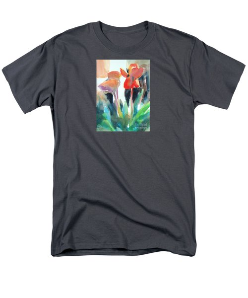 Tulips Together Men's T-Shirt  (Regular Fit) by Kathy Braud