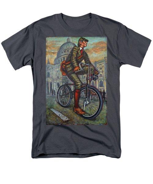 Bob On His Bantam St Pauls London Men's T-Shirt  (Regular Fit)