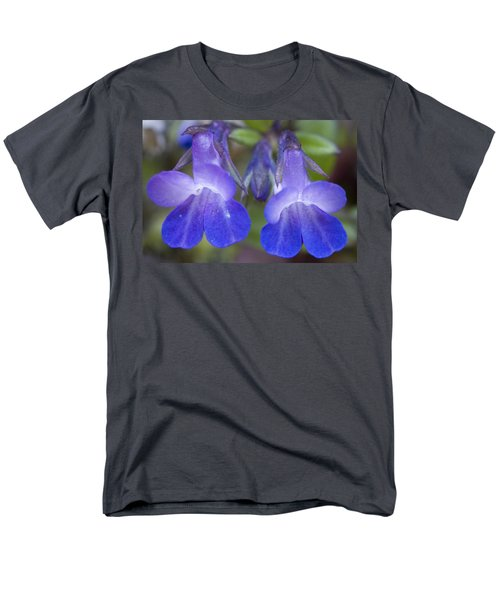 Men's T-Shirt  (Regular Fit) featuring the photograph Two Blue by Sonya Lang