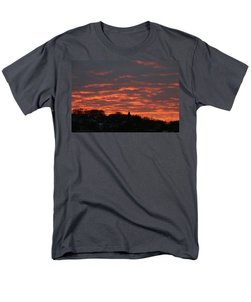 Men's T-Shirt  (Regular Fit) featuring the photograph Under A Blood Red Sky by Neal Eslinger