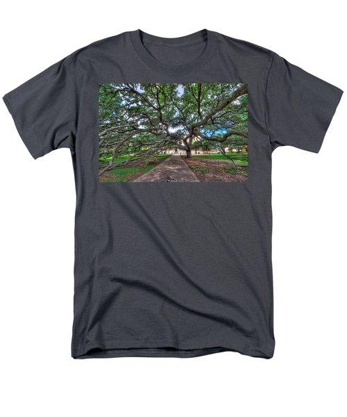 Under The Century Tree Men's T-Shirt  (Regular Fit) by David Morefield
