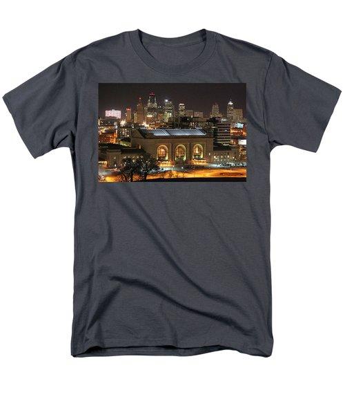 Union Station At Night Men's T-Shirt  (Regular Fit)