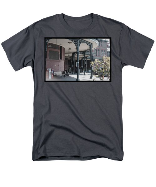 Union Street Station Men's T-Shirt  (Regular Fit) by Patricia Babbitt