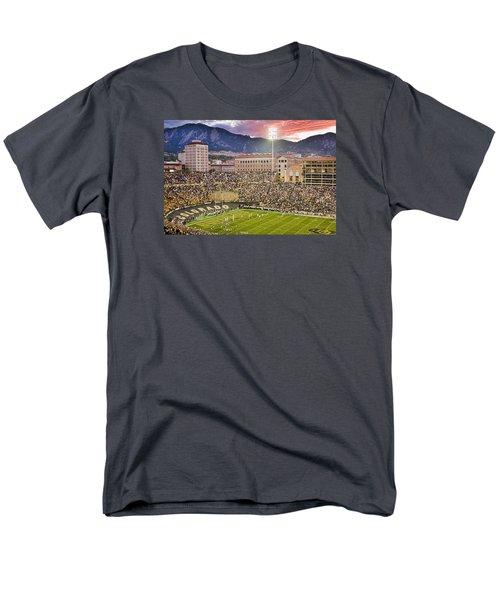 University Of Colorado Boulder Go Buffs Men's T-Shirt  (Regular Fit) by James BO  Insogna