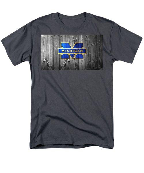 University Of Michigan Men's T-Shirt  (Regular Fit) by Dan Sproul
