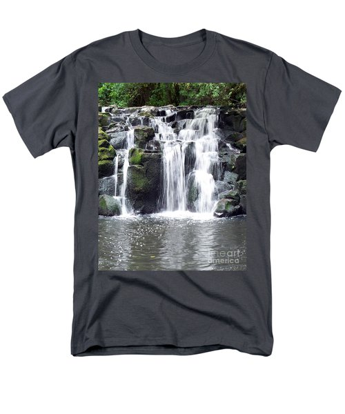 Men's T-Shirt  (Regular Fit) featuring the photograph Upper Beaver Falls by Chalet Roome-Rigdon