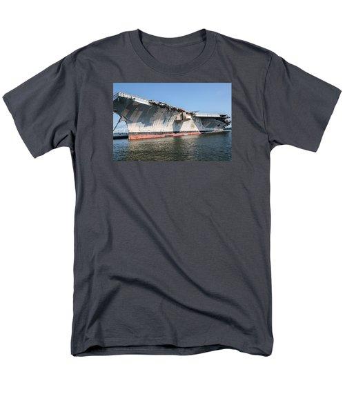 Uss John F. Kennedy Men's T-Shirt  (Regular Fit) by Susan  McMenamin