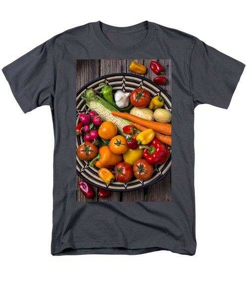 Vegetable Basket    Men's T-Shirt  (Regular Fit) by Garry Gay