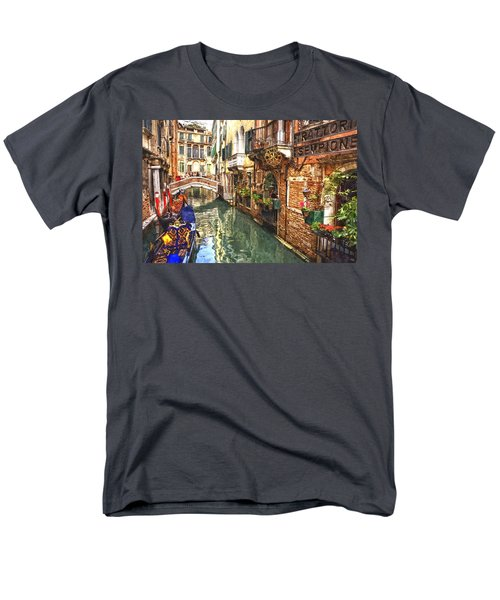 Venice Canal Serenity Men's T-Shirt  (Regular Fit) by Gianfranco Weiss