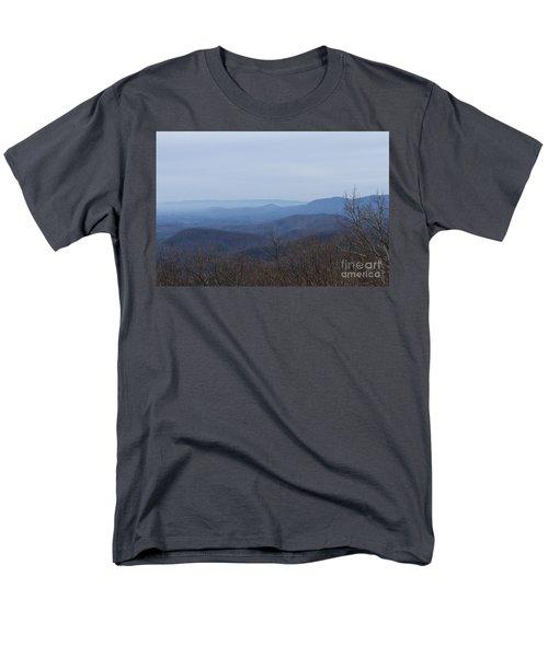 View From Springer Mountain Men's T-Shirt  (Regular Fit) by Paul Rebmann